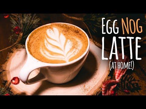 DIY Eggnog Latte (Better Than Starbucks!) | Charisma Star