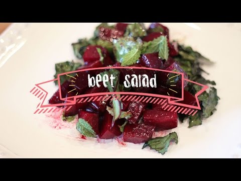 Healthy Recipes | Beet Salad with Mint
