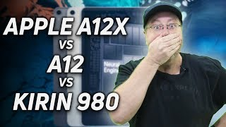 Apple A12X Bionic vs A12 vs Kirin 980