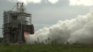 RS-25 Rocket Engine Test
