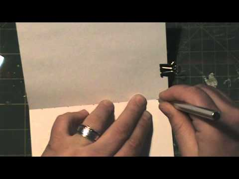 Tutorial: Make a Pocket Notebook or Journal with the Figure 8 Sttich