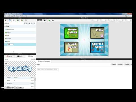 GameSalad Windows tutorial 2