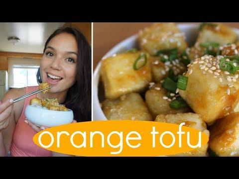 Crispy Orange Tofu // Easy Vegan Recipe