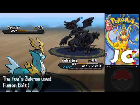 Pokemon Black and White 2 | How to get to N's Castle and fight Zekrom/Reshiram