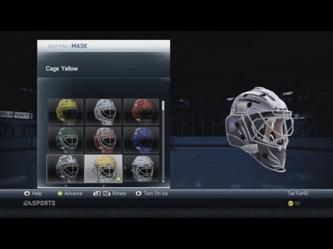 NHL 14 'NEW' Player and Goalie Equipment
