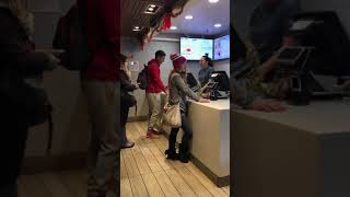 Download Lady goes crazy at McDonalds over a broken milkshake machine. (watch till the end) Video