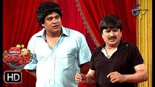 Rocket Raghava Performance | Jabardasth |  28th June 2018 | ETV  Telugu