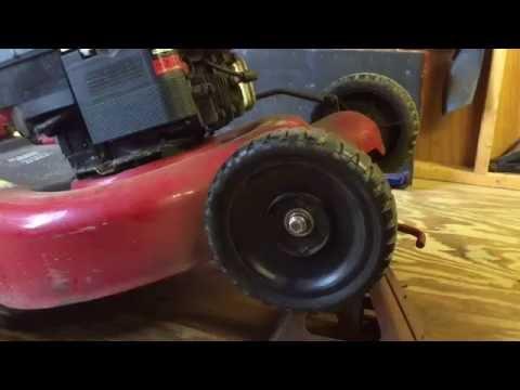 Craftsman lawn mower wheel replacement