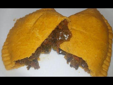 Vegan Jamaican Patties / Empanada - Dr Sebi Alkaline Food