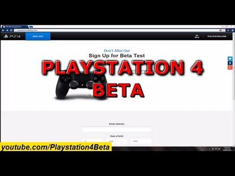 PS4 Beta - Playstation 4 Beta - NO DOWNLOAD - JUNE 2013