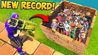 *WORLD RECORD* 21 KILLS IN 5 SECONDS! - Fortnite Funny Fails and WTF Moments! #379