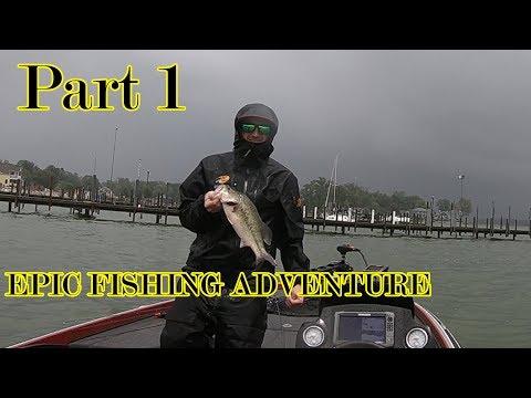 Part one of an EPIC fishing adventure! Buckeye Lake.