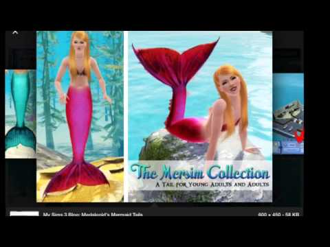 Part 1 how to become a Mermaid on Sims 3 PC
