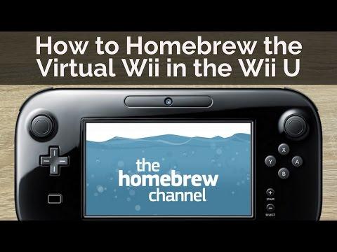 How to Homebrew the vWii in Wii U