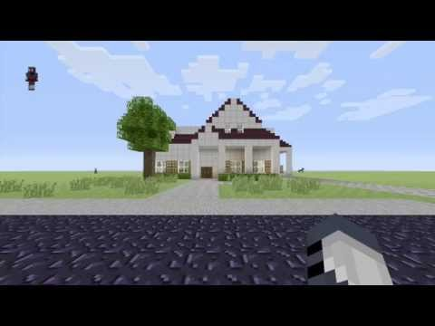 My Real House in Minecraft!!
