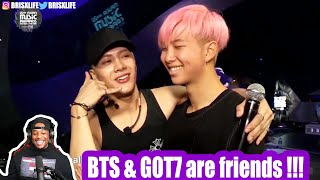 BTS & GOT7 ♥ #1 | REACTION!!!