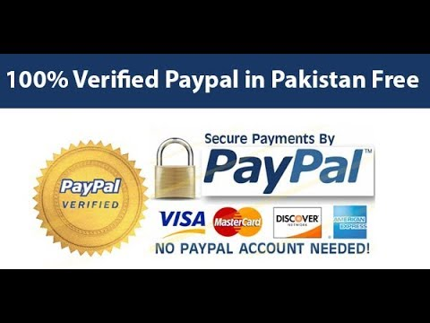How To make Paypal Account In Pakistan 100% verified
