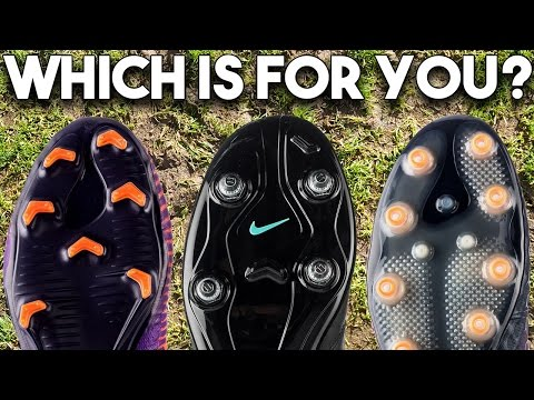 How To Pick The Right Boot Soleplate! FG, AG, SG-Pro Studs??