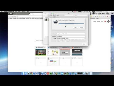 Map a printer via IP address on Mac OS X