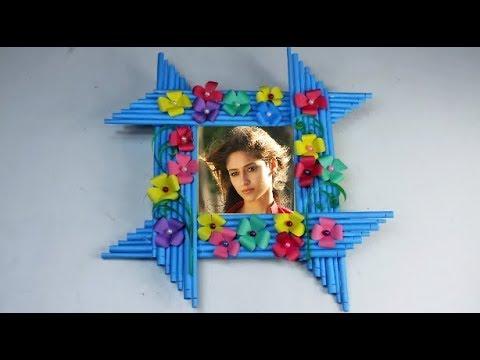 Make Awesome Photo Frame Out Of Paper Sticks | Diy-Paper-Crafts | Mr Crafts 3