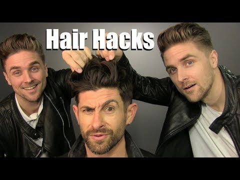 5 Men's Hair Hacks That WILL Make Your Hairstyle BETTER!