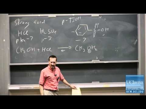 Organic Chemistry 51C. Lecture 07. Acid-Catalyzed Formation of Hydrates, Hemiacetals, & Acetals.