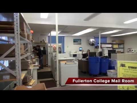 Fullerton College Mail Room