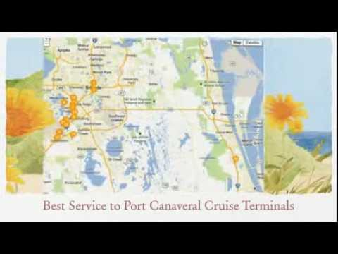 Orlando to Port Canaveral Cruise Terminals - Best Rates & Service