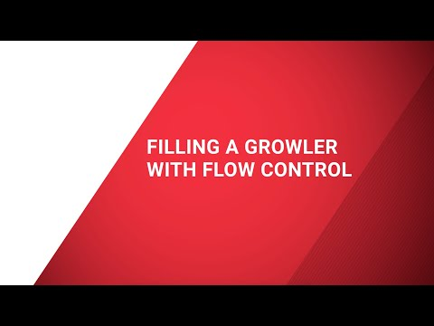 4933-FC-SS Flow Control Filling Growler