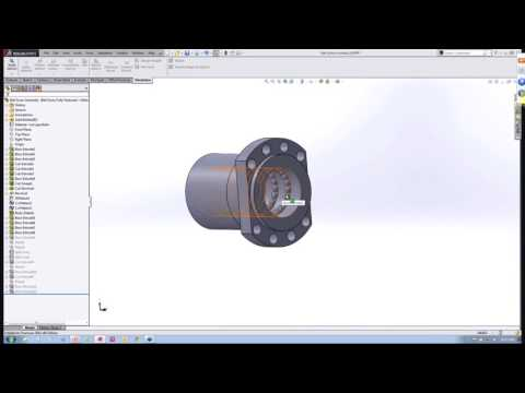 NVIDIA GRID VCA: Representing Ball Screws And Linear Rails In Your Analysis