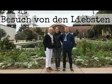 Meine Eltern in Kalifornien 👨👩👧🌴 | San Diego | Los Angeles VLOG #14 (english subtitles)