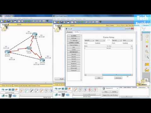 Tutorial Packet Tracer 5.1: Nube Fame Relay - Frame Relay Packet Tracer