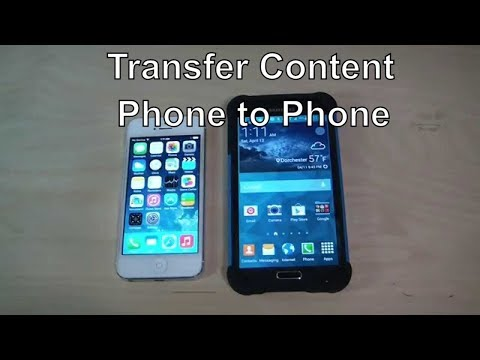 How to Transfer Content And Contacts From IPhone 4,5,6 To Galaxy S7, S6, S5 Wirelessly