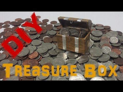 DIY: How to make Mini Treasure Chest
