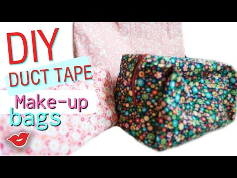 Duct Tape Makeup Bags! | Tay from Millennial Moms