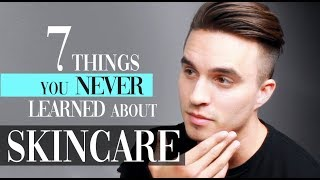 7 Things You NEVER learned about skin care (how to avoid acne)