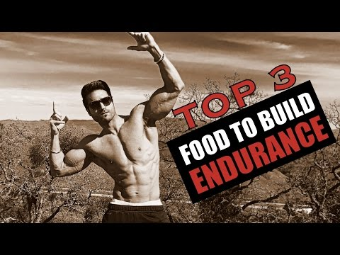 Top 3 food to build ENDURANCE & STAMINA | Info by Guru Mann