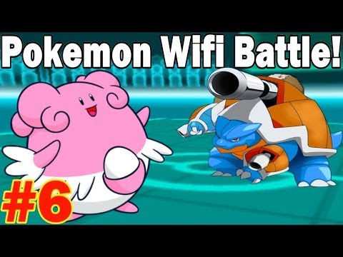 Pokemon X and Y Wifi Battle #6 - KoiandDragon vs Theo - Every Team Needs a GliBliss Counter