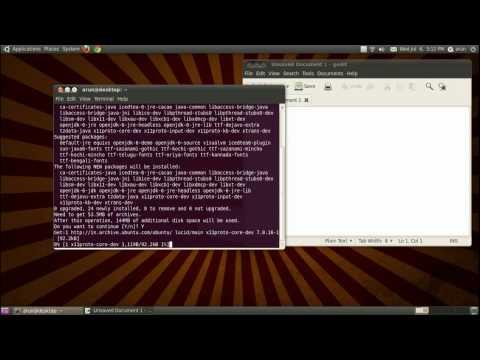 Java tutorial 1 SETTING UP JAVA IN LINUX