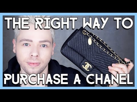 THE RIGHT WAY TO PURCHASE A CHANEL BAG