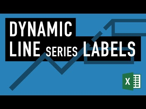Excel Advanced Charts: Dynamic Series Labels - Create Dynamic Legends in Microsoft Excel