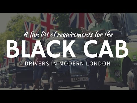 BLACK CABS in London – main requirements for taxi drivers