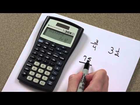 Calculator - Fractions