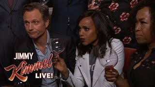 Jimmy Kimmel Toasts the Cast of Scandal After Series Finale