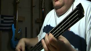 Styx Babe Bass Cover with notes & tab
