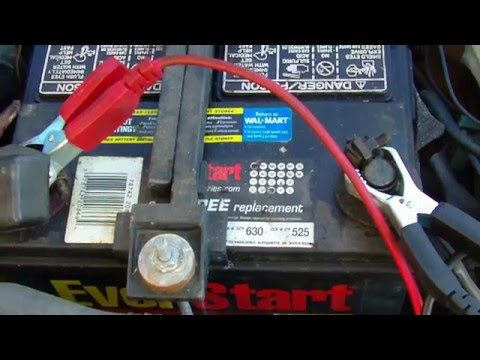 Walmart Car Battery Review Load Test Exide Everstart Value-Power
