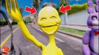 BRAND NEW GOLDEN PUPPET MASTER ANIMATRONIC! (GTA 5 Mods For Kids FNAF RedHatter)