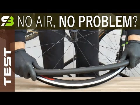Forget About Flats! Tannus Airless Tires Test. Part 1. Weight, Assembly etc.