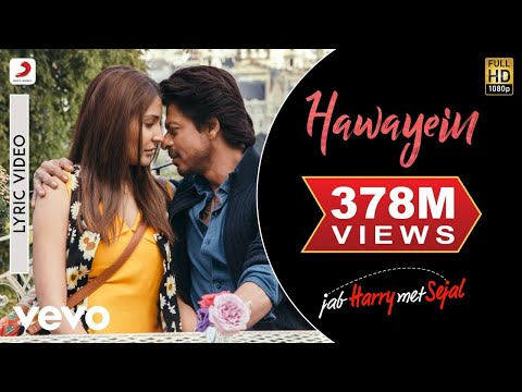 Xxx Mp4 Hawayein Official Lyric Video Anushka Shah Rukh Pritam Arijit 3gp Sex