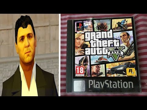 Playing the PS1 Version of GTA 5
